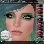 Blacklace Beauty Dazzle Eyeshadows LeLutka